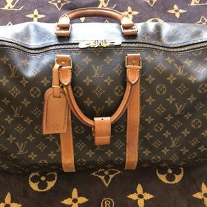 Louis Vuitton classic monogram Keepall 55